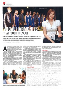 18-24 October 2014, Focus Malaysia, Style Plus (pg8) - Vocal harmonies that touch the soul