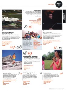 October 2014, Expatriate Lifestyle, What's On - Tapestry presents Human After All (pg17)